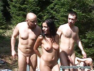 Billy Jean presiona videos de sexo casero gratis su coño a la BBC.
